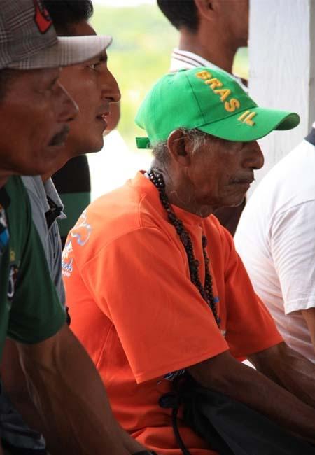 Índios Mura em reunião do MPF em Autazes (Foto: Ascom/MPF)