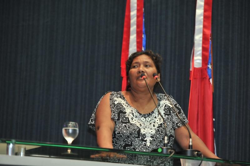 Dora Priante falou sobre as ameaças que sofria na Assembleia Legislativa em abril deste ano. (Foto: Alberto César Araújo/Aleam)