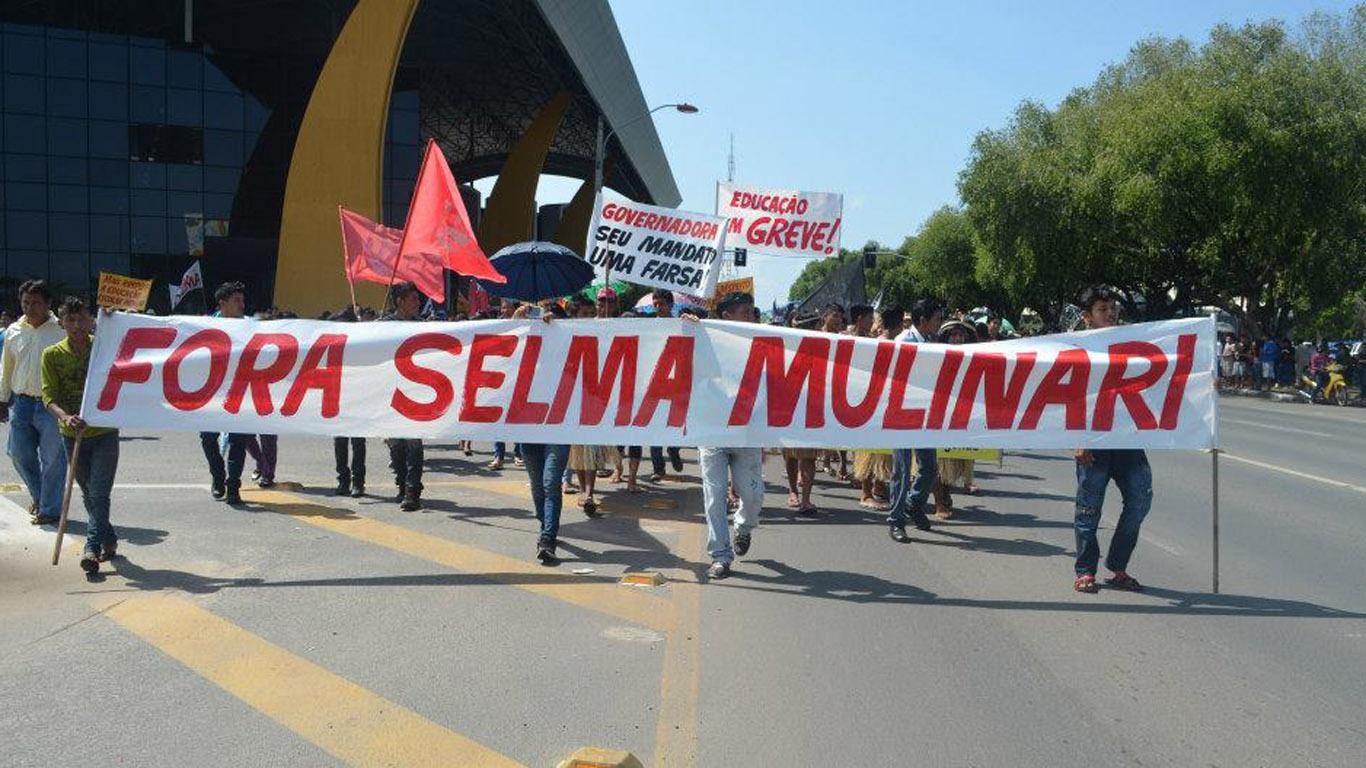 Lideranças fazem manifestação nas ruas de Boa Vista (Foto: CIR)