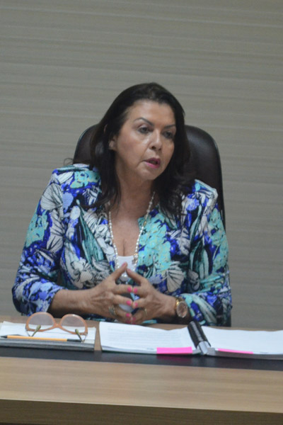 Governadora de Roraima, Suely Campos. (Foto/CIR)