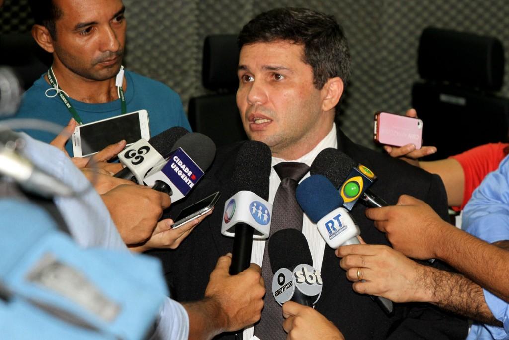 Secretário da SSP, delegado Sérgio Fontes (Fotos: Ney Mendes/Polícia Civil do AM)