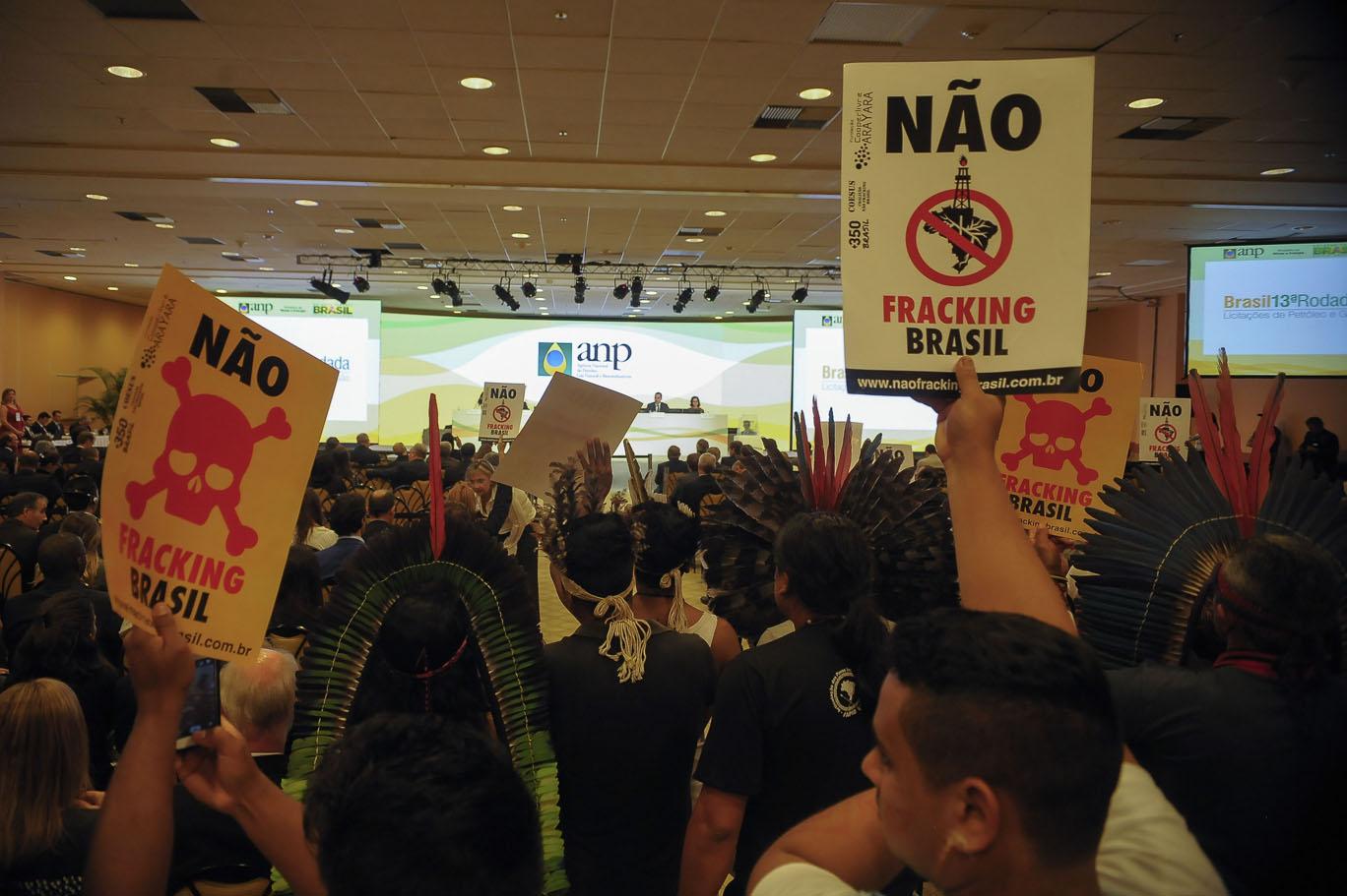 Leilão da ANP não vendeu blocos de petróleo no entorno de terras indígenas do Amazonas