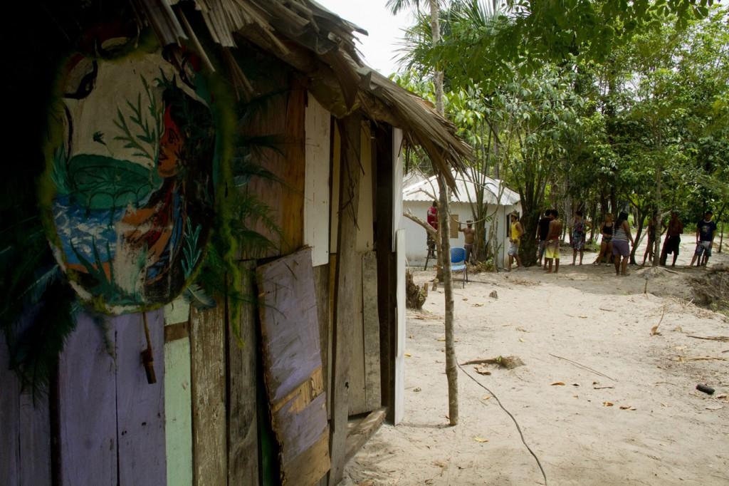 Ocupação Reserva Indígena Paxiubau, na zona norte de Manaus. (Foto: Alberto César Araújo/Amreal)