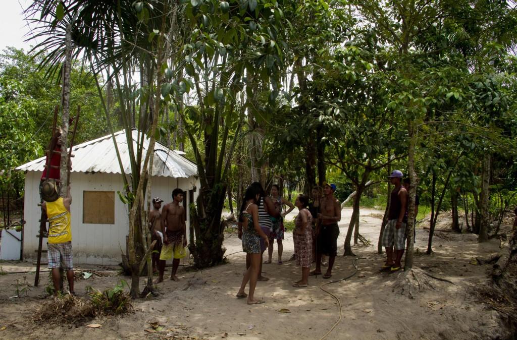 Ocupação Reserva Indígena  Paxiubau, no bairro Santa Etelvina, zona norte de Manaus.  (Foto: Alberto César Araújo/AmReal)