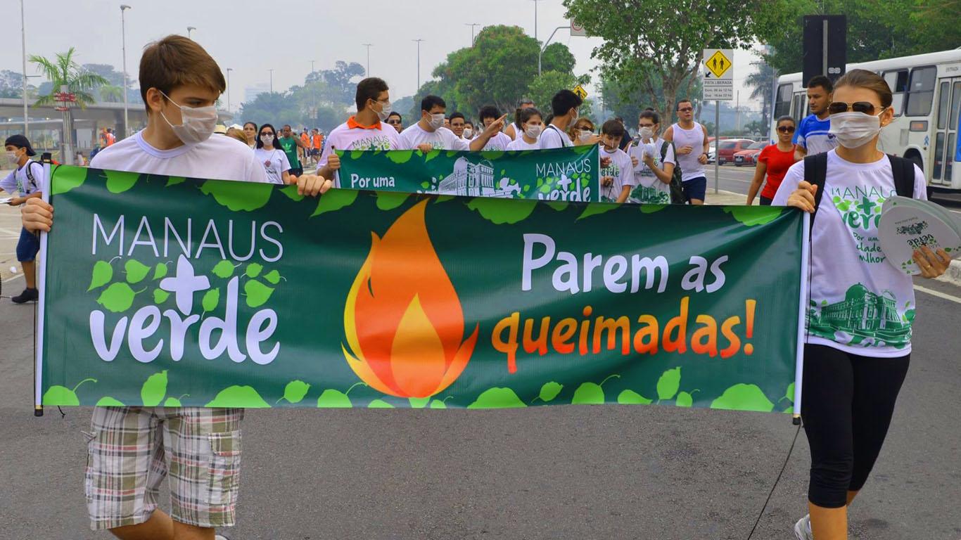 Fumaça das queimadas provoca decretação da situação de emergência em 12 cidades do Amazonas