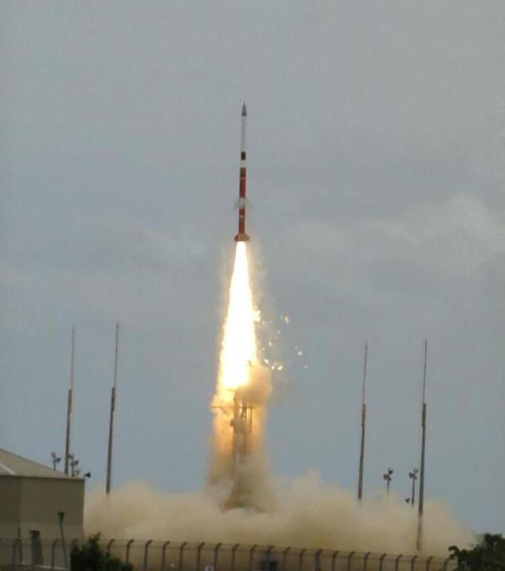 Lançamento de foguete da base de Alcântara (Foto: ABR)