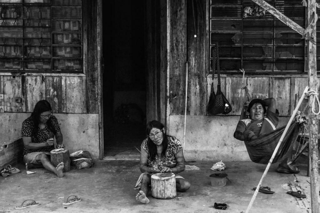 """""""A comunidade à beira da extinção, senão física, ao menos étnica"""", diz Reinaldo Trindade (Foto: Marcela Bonfim/AmReal)"""