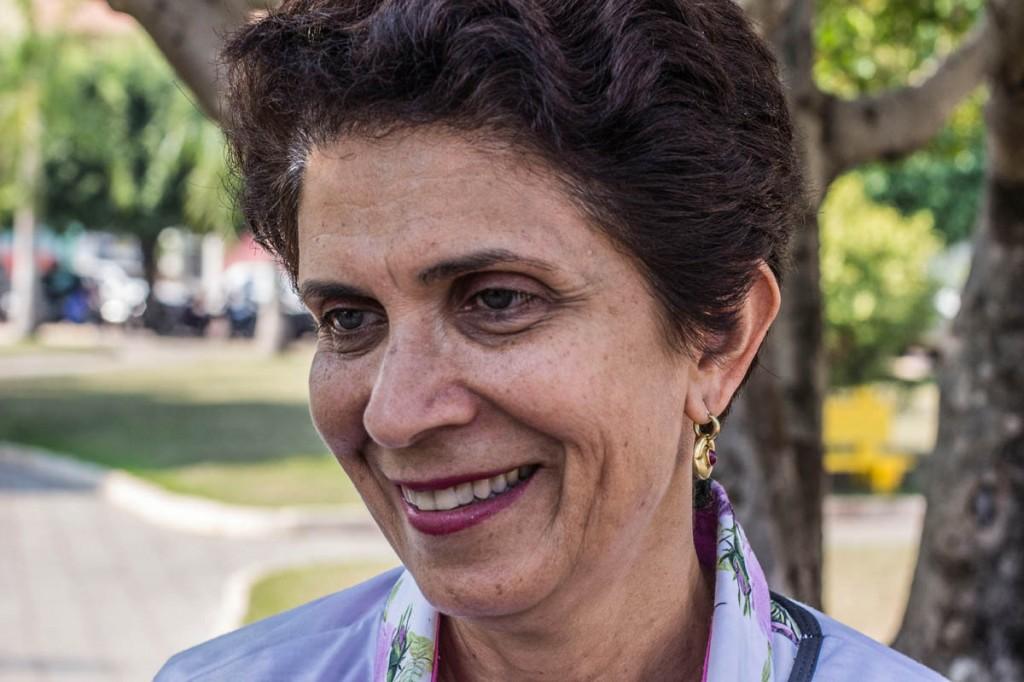 A Reitora da Universidade Federal de Rondônia (Unir),Berenice Tourinho (Foto: Marcela Bonfim/AmReal)