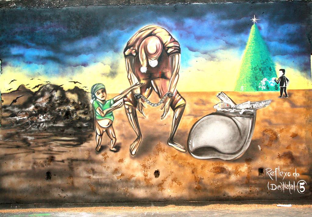 """3º. lugar – """"Reflexos do (des) natal"""" de Glaedsom Nogueira Azevedo"""