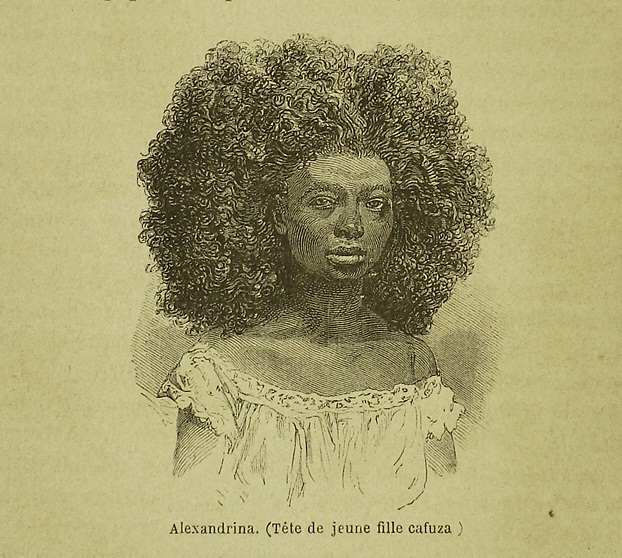 Retrato de Aexandrina, por W. James.