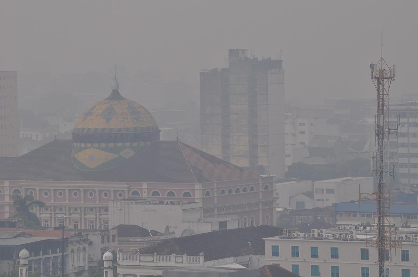 Poluição em Manaus pode afetar chuvas e fotossíntese na Floresta Amazônica
