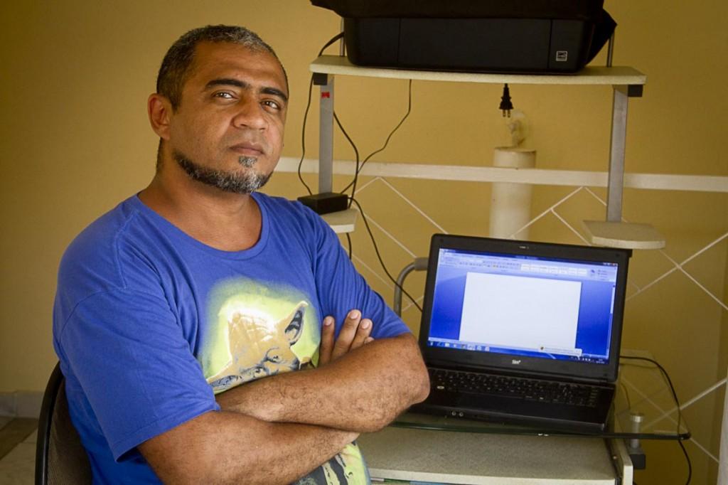 O jornalista César Augusto foi editor de Cidades (Foto: Alberto César Araújo/AmReal)