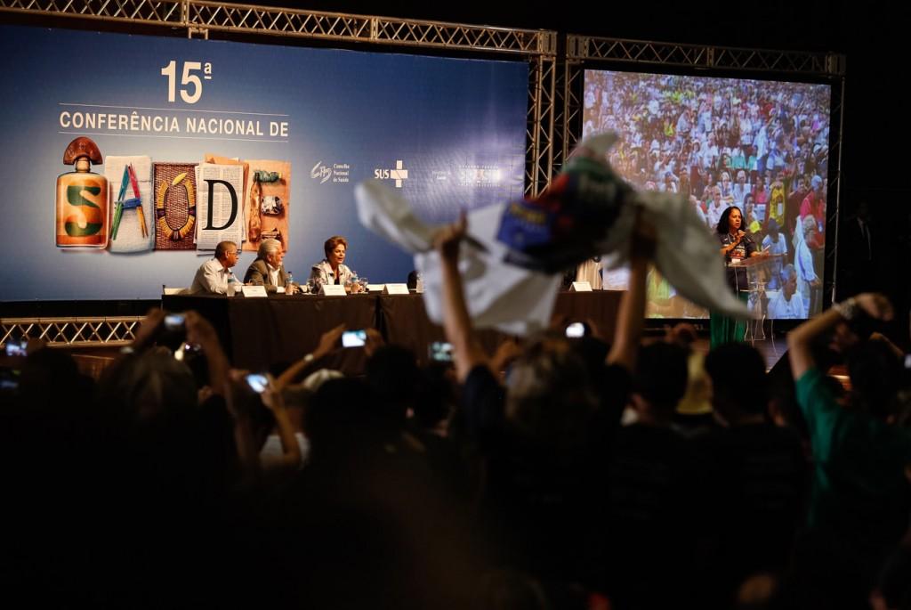 Imagem da Conferência Nacional de Saúde (Foto: Karina Zambrana/SGEP/MS2)