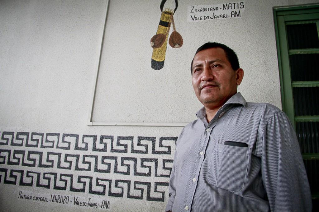 Darcy Marubo, liderança da Civaja (Foto: Alberto César Araújo/AmReal)
