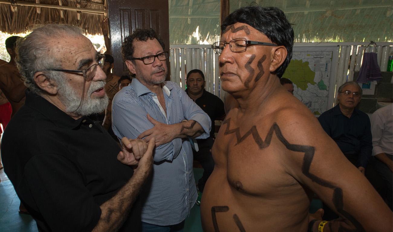 João Pedro Gonçalves visitou a terra indígena em outubro de 2015 (Foto: Mário Vilela/Funai)