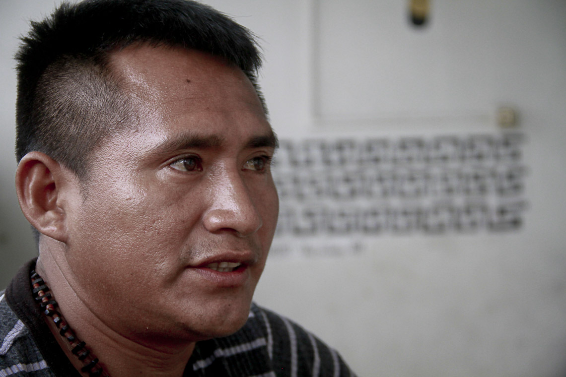 Paulo Marubo, presidente da Univaja, disse que indígenas não aceitaram proposta da Funai. (Foto: Alberto César Araújo/AmReal)