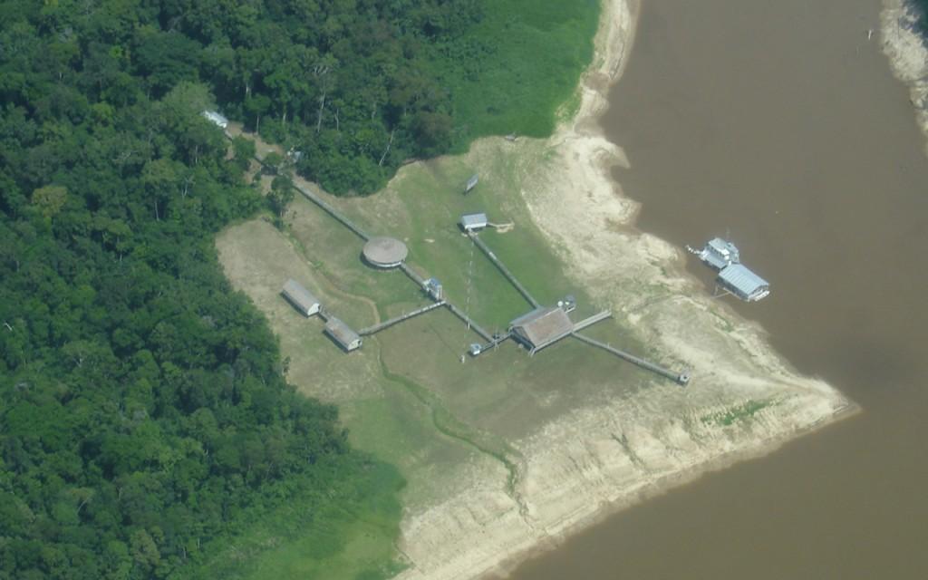 Fotografia aérea de 2007 (Arquivo Frente da Funai)