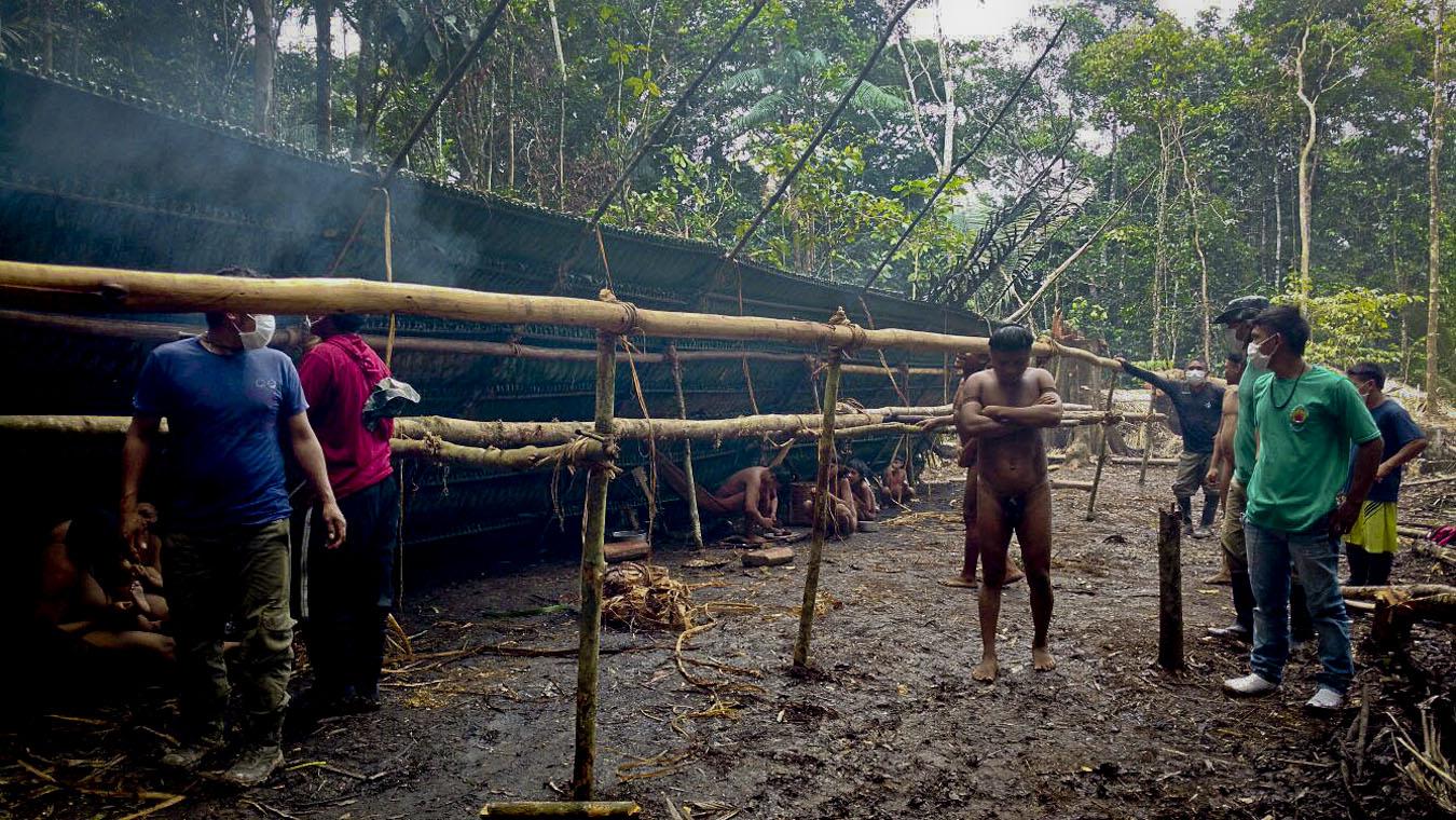 """Vale do Javari: Doenças e mudança de aldeia podem ter causado um """"choque"""" entre Korubo e Matís"""