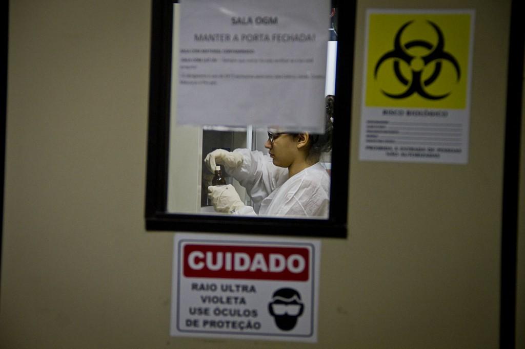 Laboratório de pesquisa da Fiocruz em Manaus. (Foto: Alberto César Araújo/AmReal)