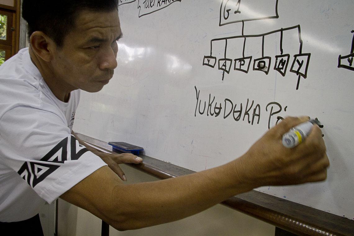 Gabriel Maia é da comunidade Pato Cachoeira, no rio Papuri. (Foto: Alberto César Araújo)