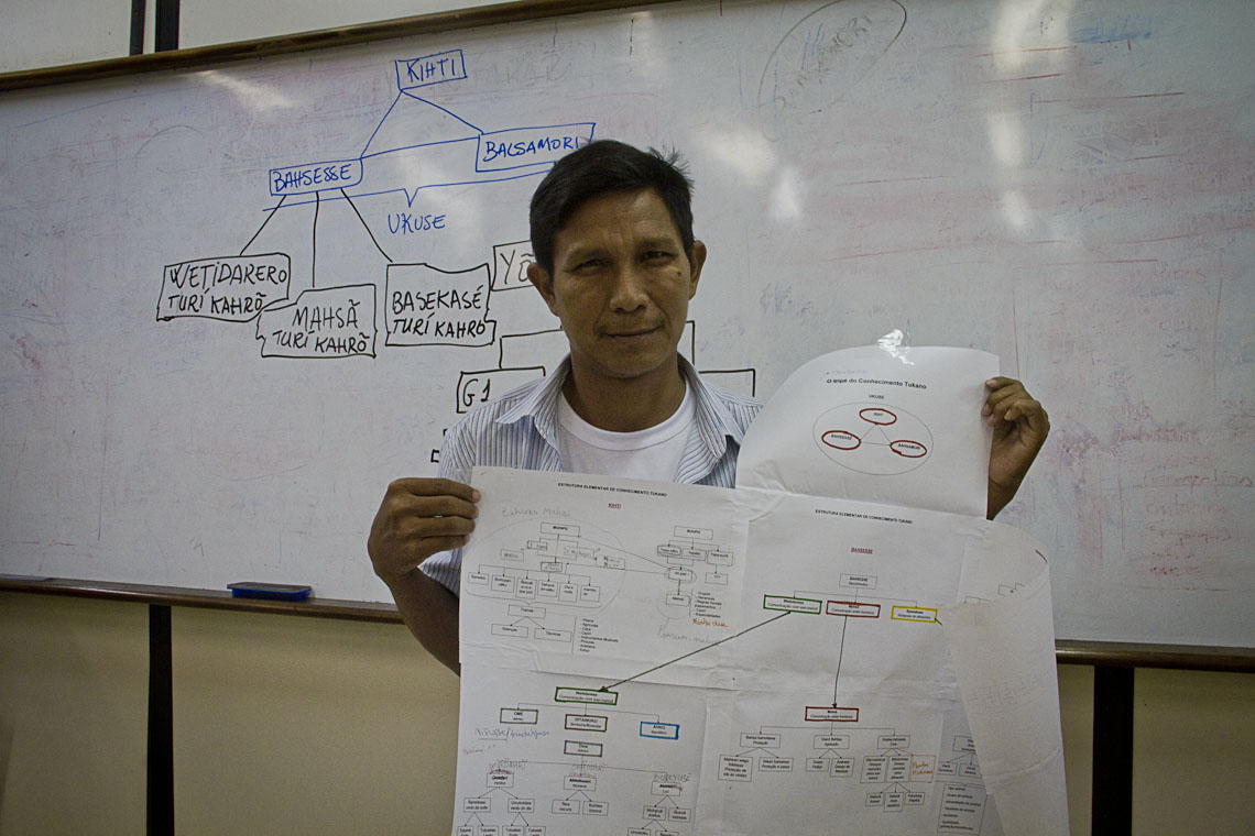 O antropólogo João Paulo Barreto, da etnia Tukano. (Foto: Alberto César Araújo/AmReal)