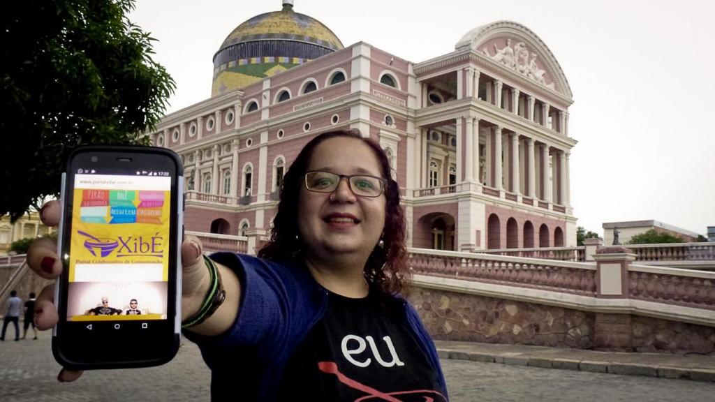 A jornalista Renata Paula buscou o caminho o novo jornalismo (Foto: Alberto César Araújo/AmReal)