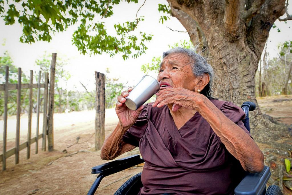 Indígenas sofrem com falta de água potável (Foto: Jorge Macêdo/Amazônia Real)