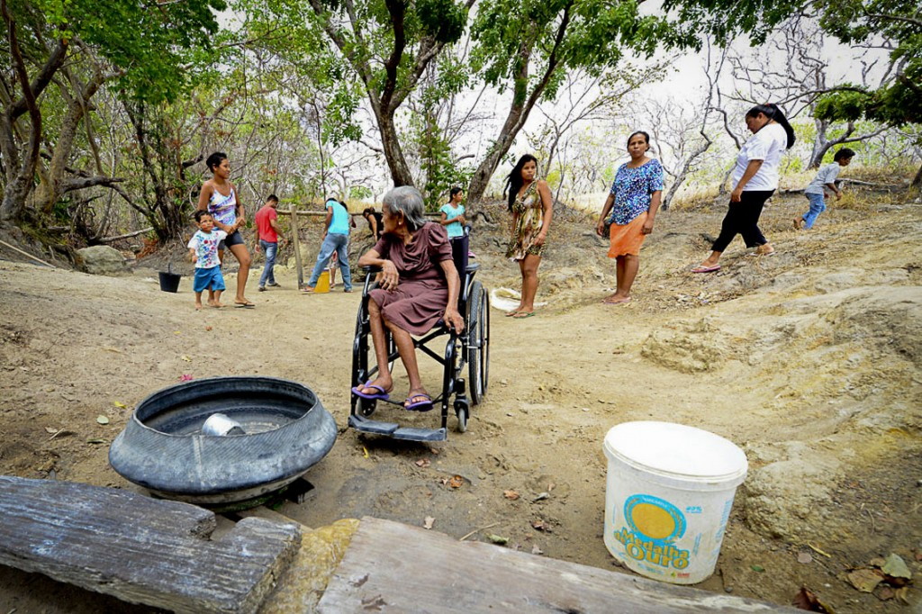 Indígenas Macuxi e Wapichana são os moradores tradicionais Comunidade do Anzol (Foto: Jorge Macêdo/Amazônia Real)