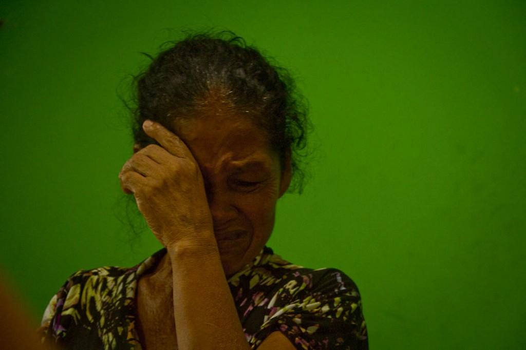 Dona Cleonice dos Santos, mulher do pescador Ferreira dos Santos. (Foto: Alberto César Araújo/AmReal)