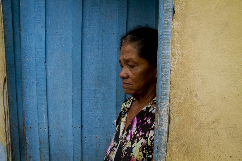 Cleonice Santos, mulher do pescador Luiz Ferreira dos Santos, um dos desaparecidos. (Foto: Alberto César Araújo/AmReal)