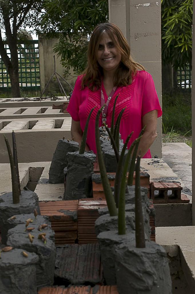 Flávia Mochel é pesquisadora da UFMA especializada em recuperação de manguezais. (Foto: Ana Mendes/AmReal)