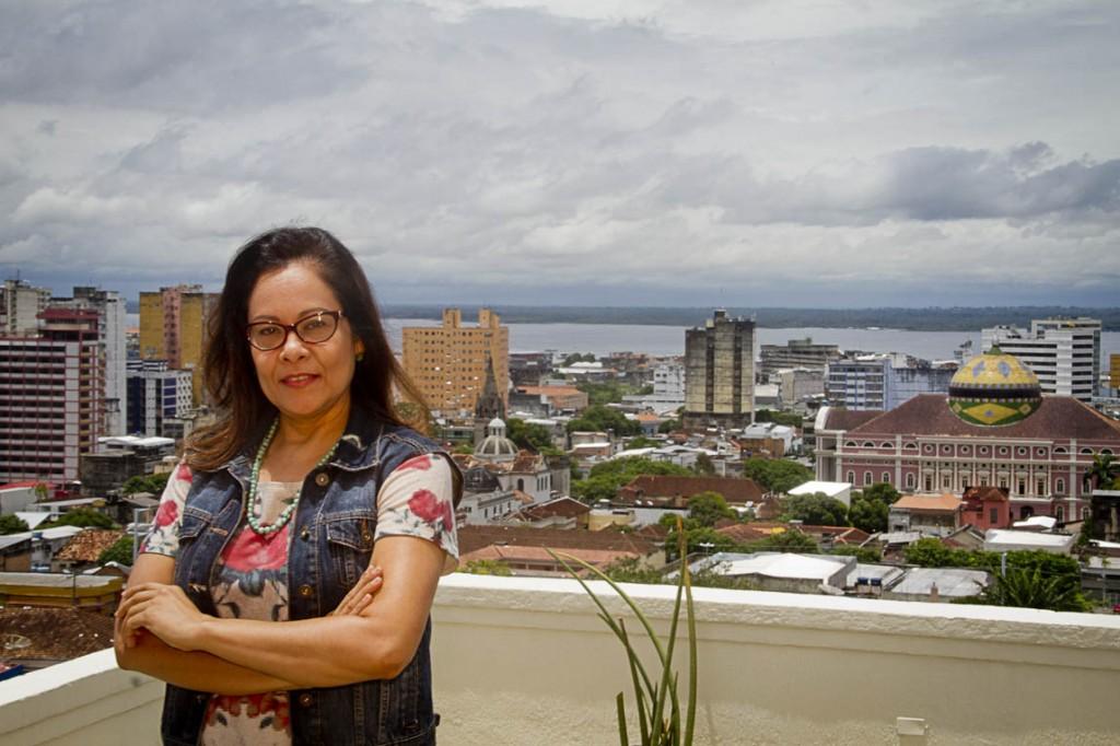 """A jornalista trabalhou no jornal """"Folha de S. Paulo"""" e na Tv Cultura, de Manaus. (Foto: Alberto César Araújo/AmReal)"""