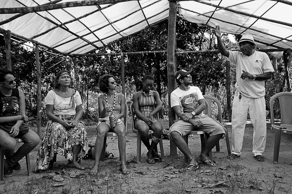 Movimento Cajueiro Resiste reúne militantes, artistas e pesquisadores (Foto: Arquivo Amazônia Real)