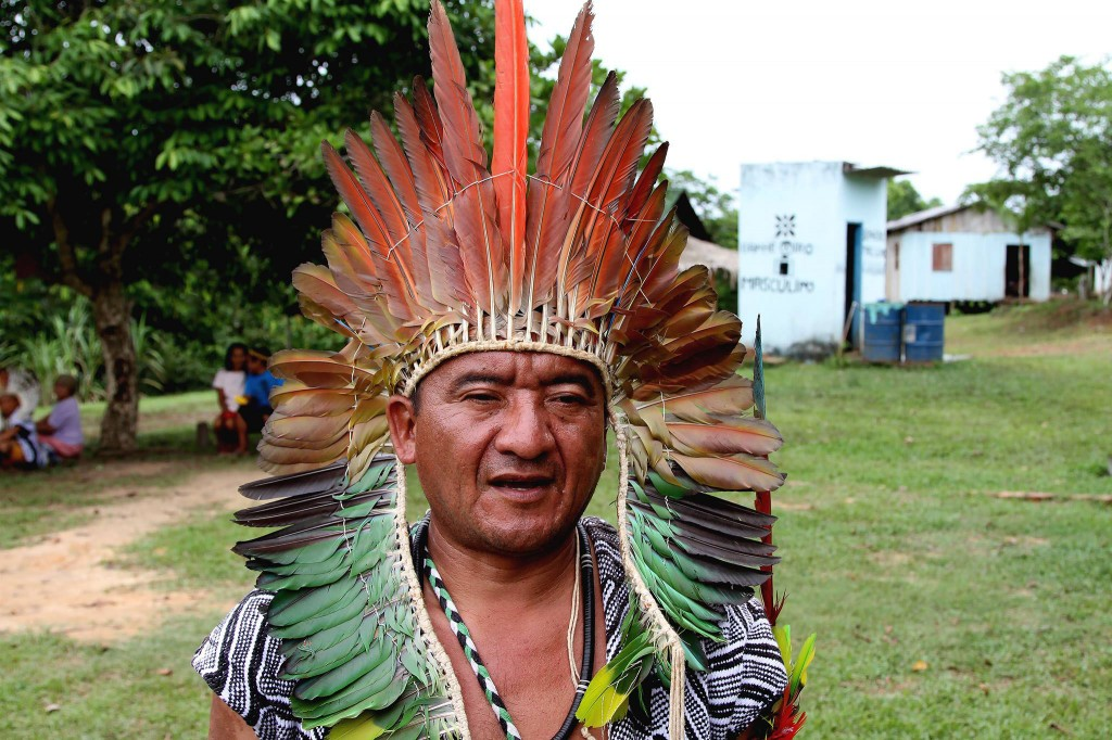 O líder Assis Kaxinawá do Acre (Foto: Arquivo pessoal)