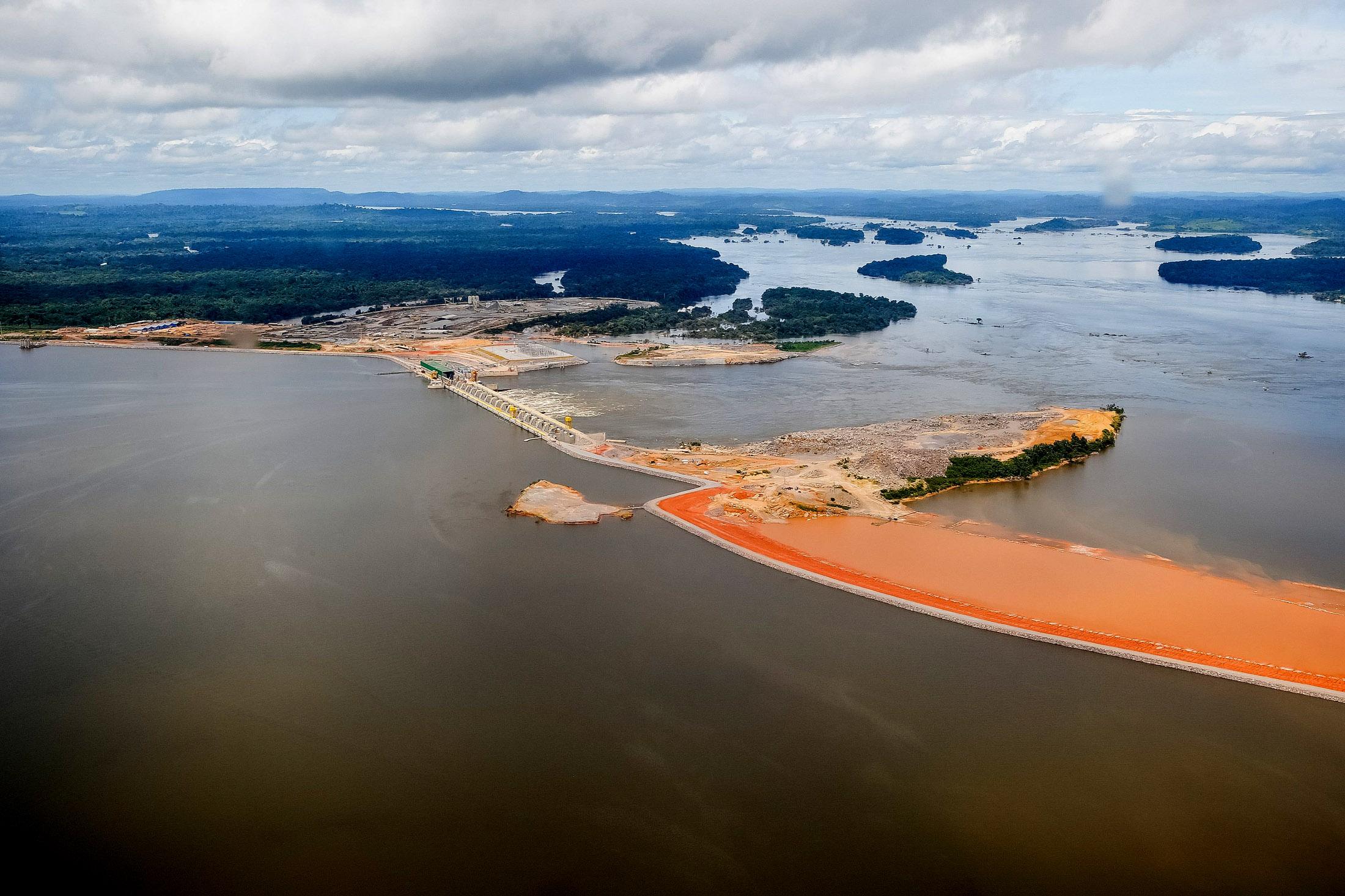 Belo Monte começou