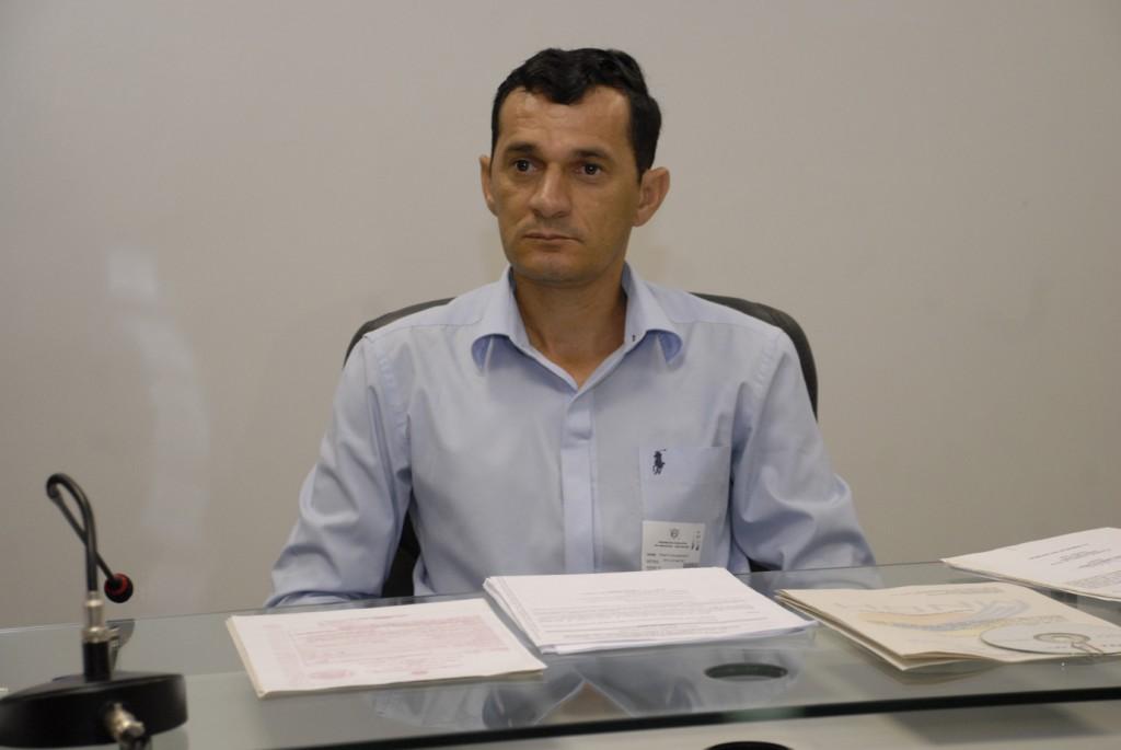 O conselheiro do MNDH, Renato Souto (Foto: Rubilar Santos/Aleam)
