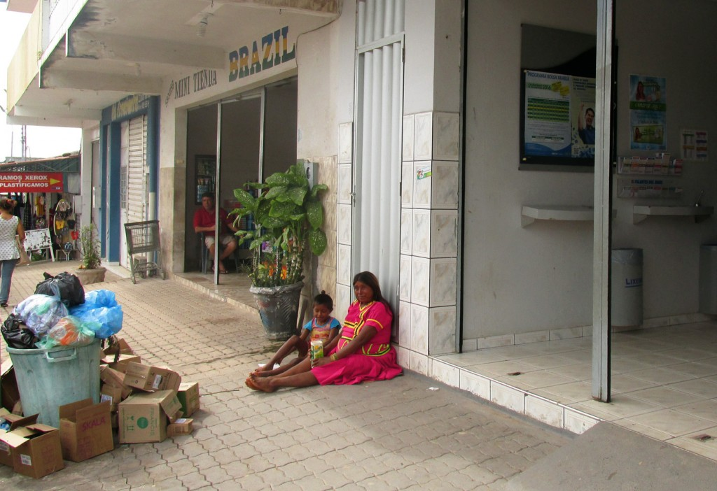Índígena Warao em Pacaraima, em Roraima (Foto: Cora Gonzalo/AmReal)