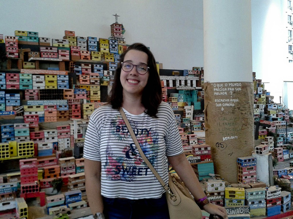 A estudante Ingrid Bico (Foto: Arquivo pessoal)