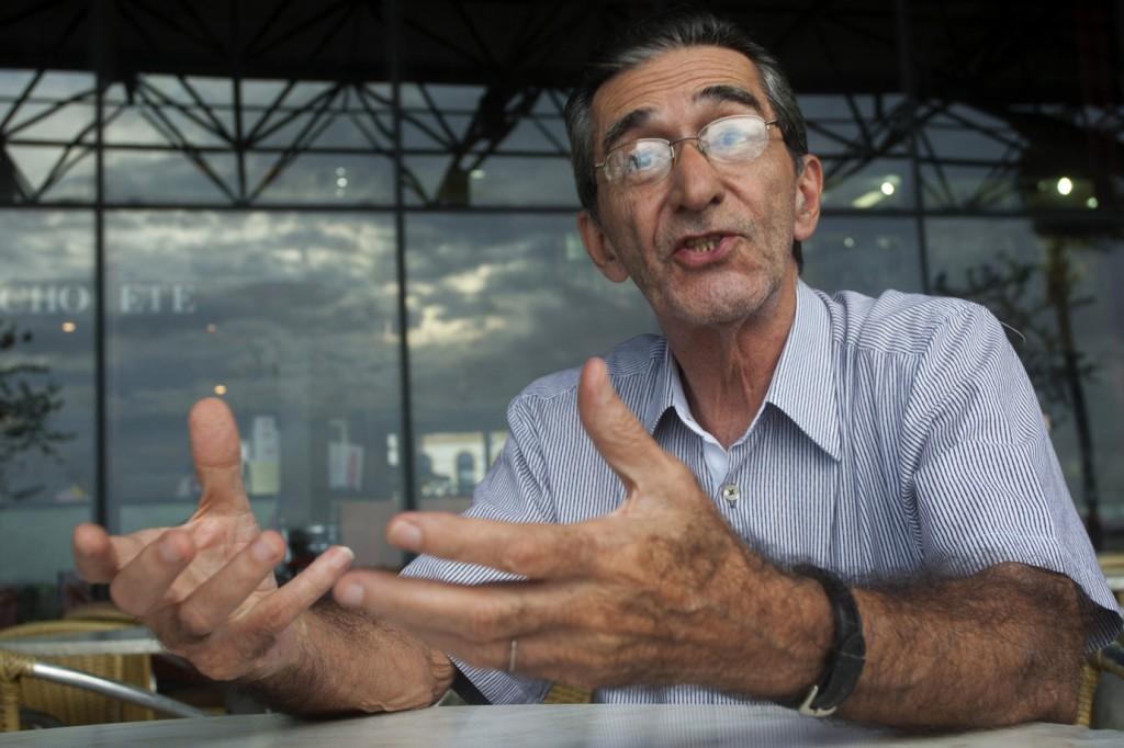 O jornalista e professor Manuel Dutra, da UFPA (Foto: Paulo Santos/AmReal)