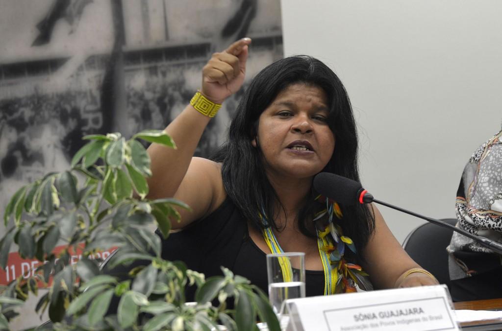 Sônia Guajajara, da APIB (Foto: Wilson Dias/Agência Brasil)