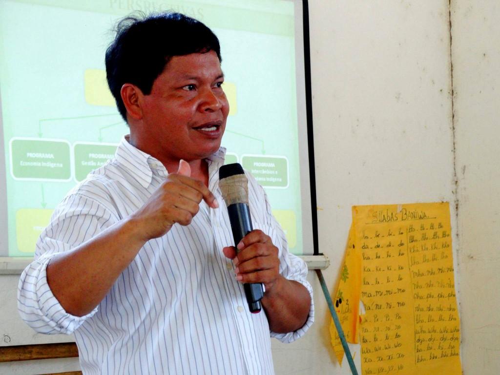 André Fernando Baniwa é uma liderança do Alto Rio Nego, no Amazonas (Foto: Arquivo pessoal)