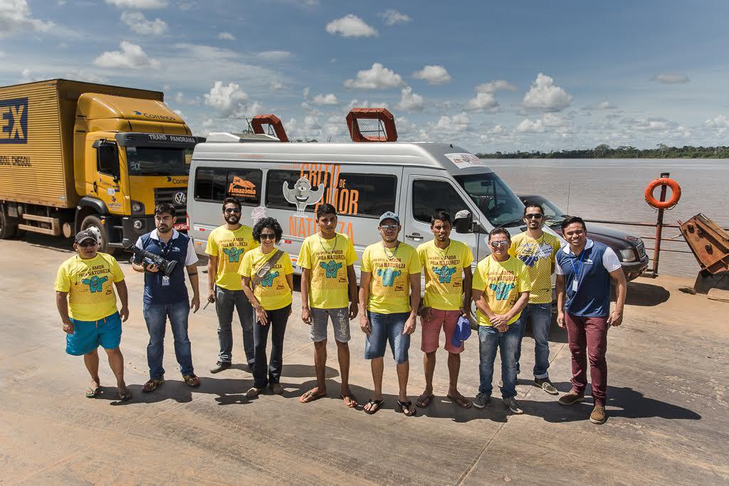 A equipe do Cineamazônia (Foto: Avener Prado)