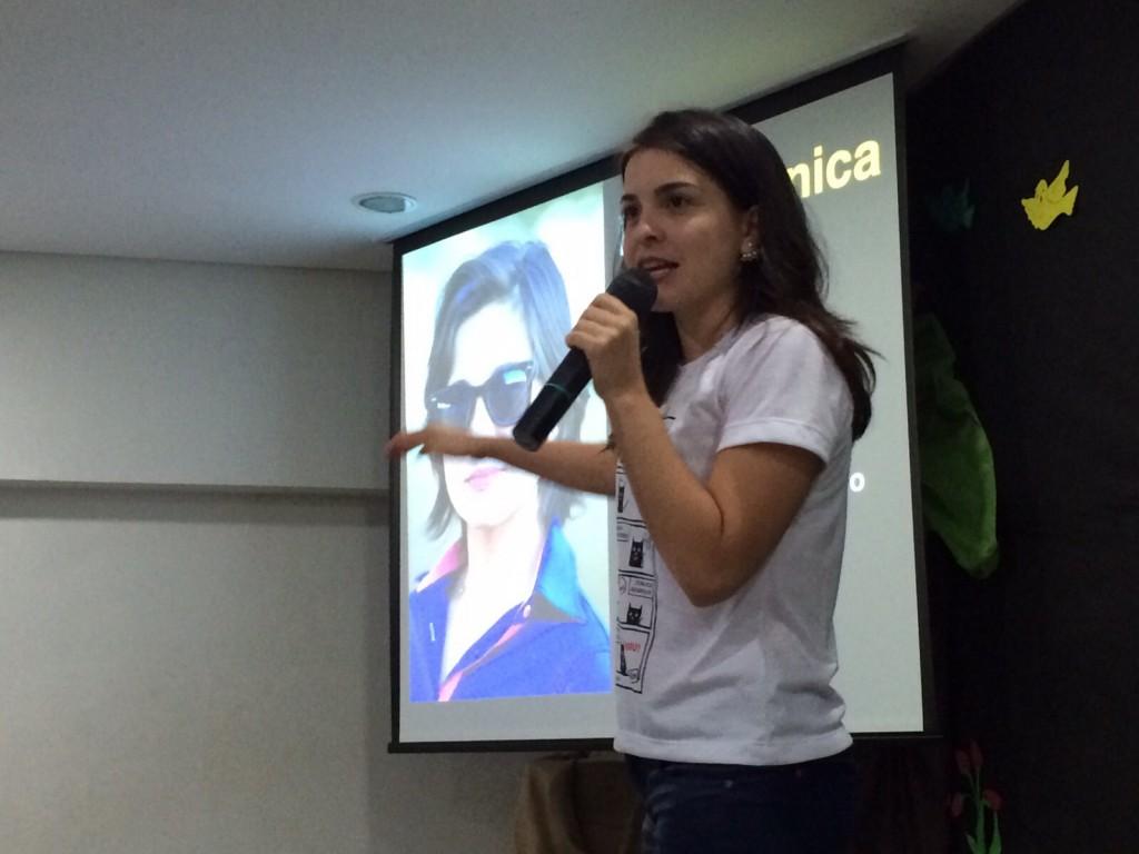 A jornalista Verônica Machado buscou um novo caminho (Foto: Arquivo pessoal)