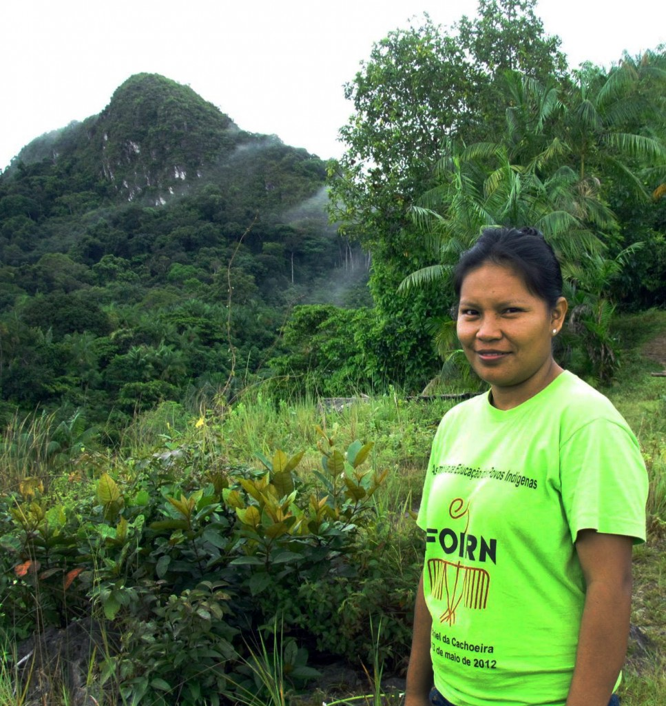 Braulina Aurora Baniwa, do Alto Rio Negro. (Foto: Arquivo pessoal)