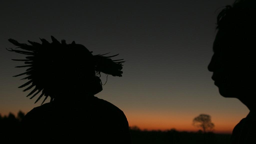 Testemunhas do conflito na Fazenda Yvu, em Caarapó (Foto: Ana Mendes/Cimi)