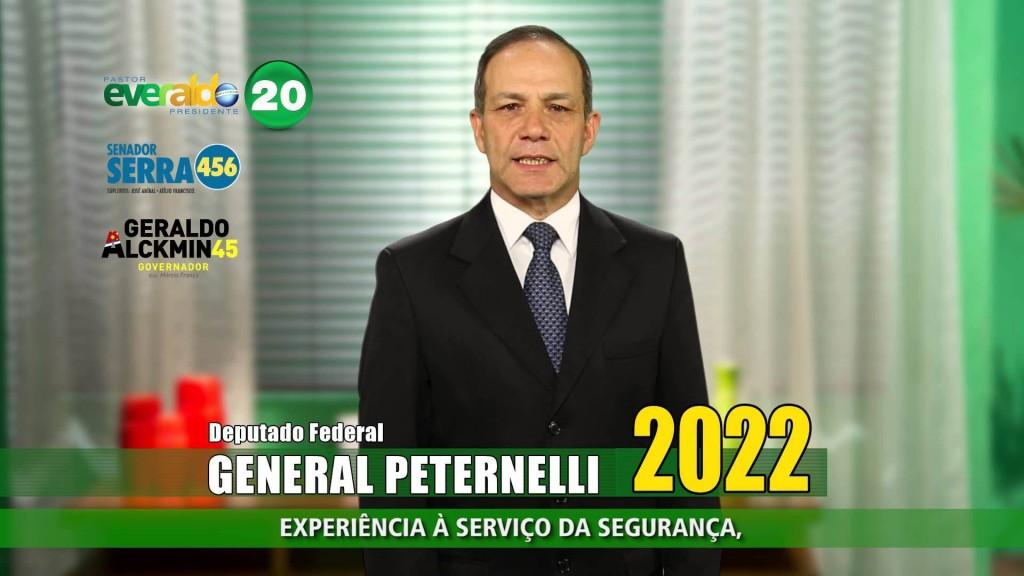 GENERAL PETERNLLI NA CAMPANHA 2014