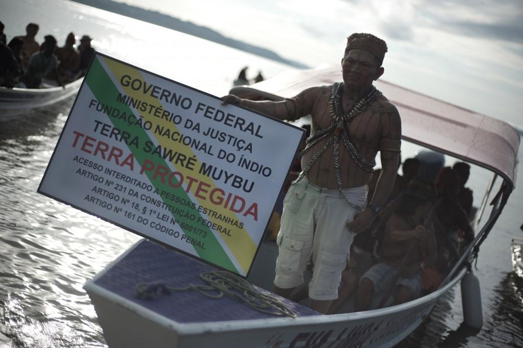 Funai ainda não demarcou as terras dos índios Munduruku (Foto: Anderson Barbosa/Greenpeace)