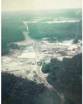 Vista aérea da Mineração Taboca (Foto:  Egydio Schwade)