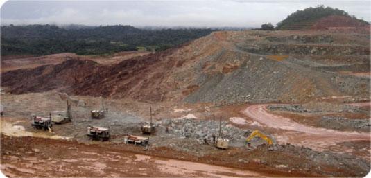 Mineração Taboca (Foto: Rogélio Casado/Arquivo pessoal)