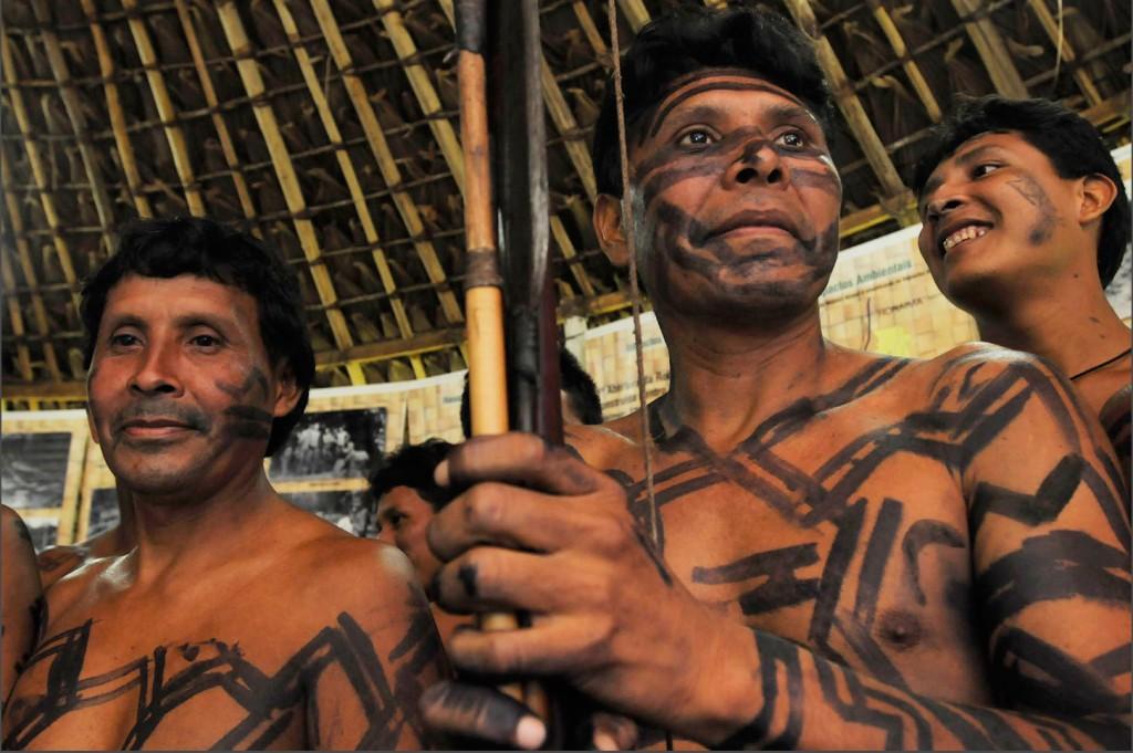 Índios Waimiri Atroari (Foto: Mário Vilela/Funai)